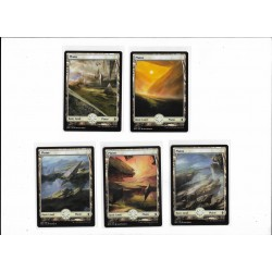 5 Battle for Zendikar Full Art Plains