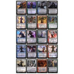 War of the Spark WAR Complete Uncommon Planeswalker Set (20 in total)