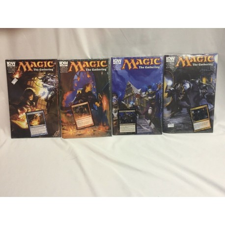 IDW 2012 Magic The Gathering 1-4 SEALED with cards