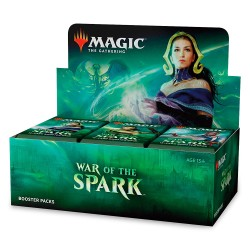 War of the Spark Booster Box Sealed English